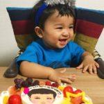 1才のお祝いは似顔絵ケーキ!