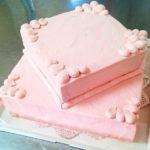 ピンクの2段