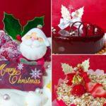 2018クリスマスケーキの撮影