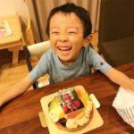 写真ケーキでお祝い♡