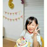 みんなの笑顔 6さいのお誕生日
