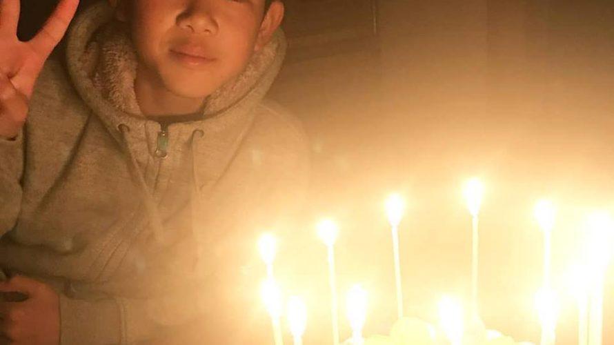 13才のお誕生日