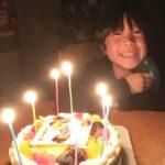 七五三写真ケーキ
