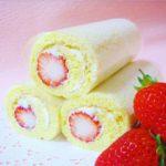 節分「苺の恵方ロール」