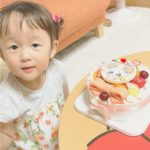 3才のお誕生日❤️ お気に入りのキャラクターでお祝いいただきました(^-^)
