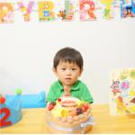 『このたびはとっても可愛いケーキをありがとうございました。 2歳の息子と、おいしくいただきました。 ありがとうございました。』