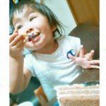 3才のお誕生日はキャンデコケーキでお祝い♥
