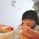 2才のお誕生日ケーキ❤