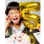 5才のお誕生日にキャンデコサイトをご利用いただきました^_^