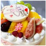 ケーキで四季を^_^