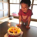 5才のお祝い^_^