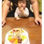 1才のおたんじょうびケーキ☆