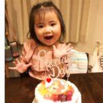 3才のお誕生日❤
