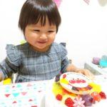 2歳のお祝い^_^アンパンマンケーキ❤