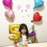 キュアコスモケーキでお誕生日❤