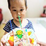 写真ケーキで2歳のお祝い❤