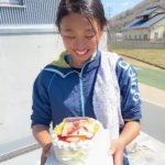 お友達に写真ケーキ^_^