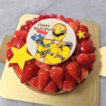 苺のタルトでキャラクターケーキをお作りさせていただきました^_^