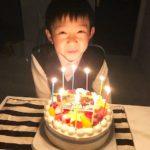 9歳のお誕生日にCanDecoをご利用いただきました^_^