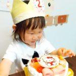 2歳のお誕生日にキャンデコをご利用いただきました❤
