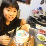11歳のお誕生日は手作りケーキ❤