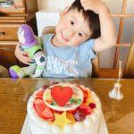 3歳のおたんじょうびにキャンデコをご利用いただきました❤