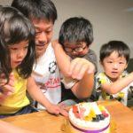 パパのお誕生日を力作でお祝いいただきました❤