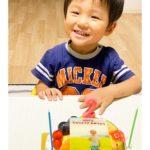 写真ケーキで2歳のお誕生日^_^