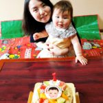1歳のお誕生日❤