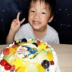 ジンオウガで6歳のお誕生日❤