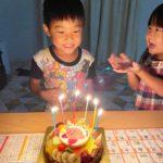 6歳のお誕生日❤