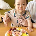 似顔絵ケーキで1歳のお誕生日❤