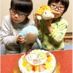 キャラクターケーキで5歳のお誕生日❤