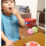3歳のおたんじょうび❤