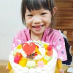 7才のお誕生日❤